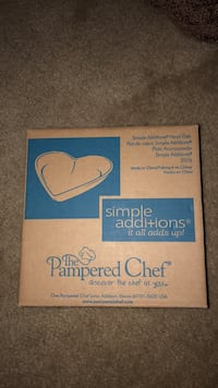 NEW Pampared Chef Red Heart Dish Rockville, 20850