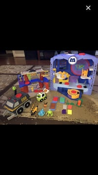 Imaginext Monsters inc scare school and scare factory Richwood