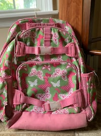 Free backpack from pottery barn