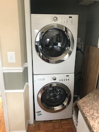 Washer dryer give me $200 each lamps $20 each and a rolling chair $35