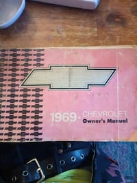 1969 chevy owners manual Wichita, 67211