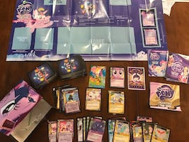 My little pony card game w box
