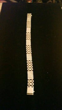 Sterling silver  bracelet with 42 diamonds