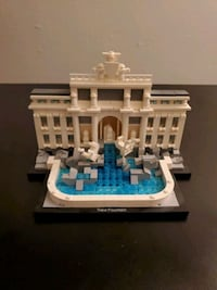 Lego Architecture Trevi Fountain Arlington Heights, 60005