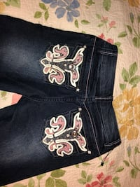 Red Ranch cowgirl jeans size girls 12 Pharr, 78577