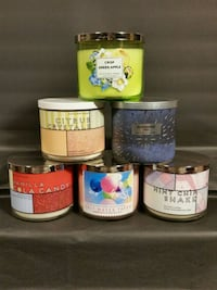 Bath + body works 3-wick single candle, lot #3
