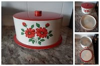 *Vintage* Cake Tin Carrier Does have some wear in  Morinville