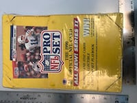 1990 NFL proset cards unopened Billings, 59101