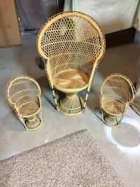 Wicker doll chairs Bloomsburg, 17815