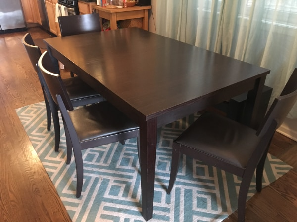Crate And Barrel Madison Expandable Dining Table