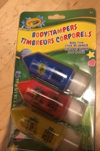 Chef Crayola Bodystampers for thé bath Laval, H7T 1C8