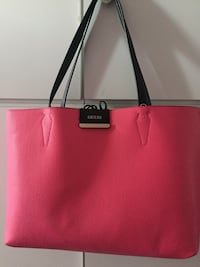 tote bag donna in pelle rosa Sarno, 84087