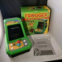 Frogger Excalibur Electronics Tabletop Arcade Video Game  Whitby, L1R 3M2