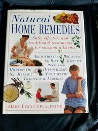 Natural Home Remedies by Mark Evans B. Phil book Calgary, T2A 6E6