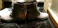 pair of brown leather boots Mississauga, L5B 2A4