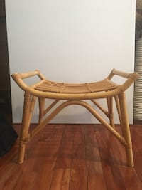 brown wooden rocking chair with white wooden frame Toronto, M6H 2G9