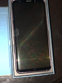 black Samsung Galaxy S8 with box null
