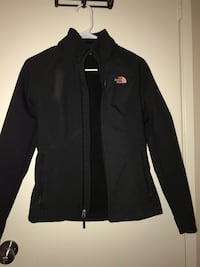 black The North Face zip-up jacket Simi Valley, 93065