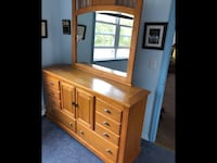 Bedroom dresser w/mirror and Amour Bay Shore, 11706