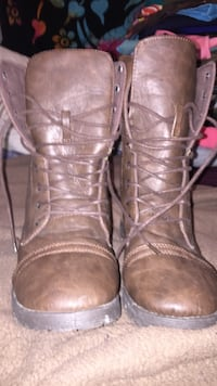 pair of brown leather boots Halifax, B3M 1S6
