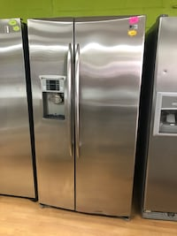 Stainless Steel GE Profile Side by Side Refrigerator  Woodbridge, 22191