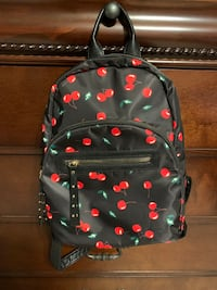 Small, cherry print backpack Shoreview, 55126
