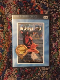 Kung fu movie DVD video The punch of death