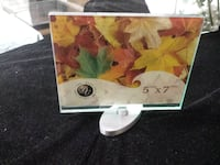 NEW Revolving Glass Photo Frame, Picture Frame 5x7, 360 Spin 3153 km