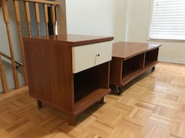 NeoSet coffee table and end table Used