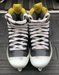 pair of white-and-black Adidas sneakers Toronto, M6M 1T9
