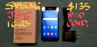 SAMSUNG J3(6)v.good condition+box+charger Pointe-Claire, H9R 3A3