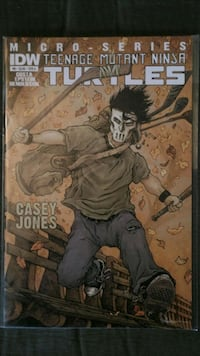 TMNT #6 Casey Jones Sioux Falls, 57105