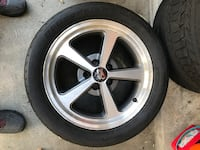 Mach 1 rims and tires 17x8, tires 275x40x17 Oceanside, 92056