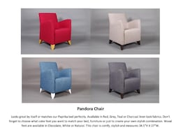 The Pandora Chair in Different Colors;  ** New-in-Box **