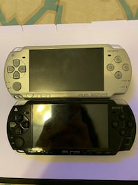 PSP black and silver