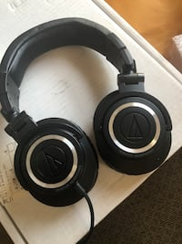 Audio Technica ATH-M50 Monitor Headphones. Never been used.