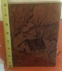 Antique hand carved wooden painting Rio Rancho, 87124
