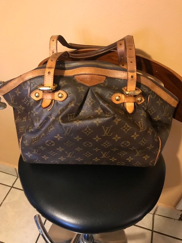 48c5eeb0c7a1 Used Brown louis vuitton monogram leather handbag for sale in Forest Hill -  letgo