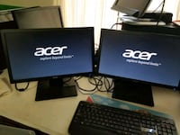 Acer monitor 18.5