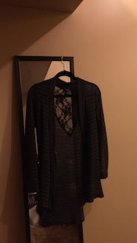 black cardigan Central Okanagan