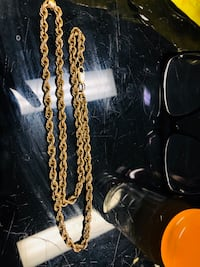 10K gold rope chain  Mississauga, L5B 2R4