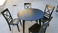 Small dining table can fold for small space solid  Hemet, 92545