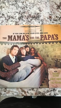 The Mama's and the Papa's vinyl album Naperville, 60540