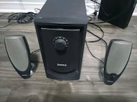 Dell 2.1 computer speakers with sub woofer Brampton, L6R 0C1