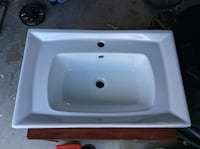 Ceramic Lavatory Sink with overflow Riverdale, 30274