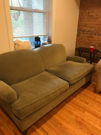Moss green couch $75 OBO Washington, 20002