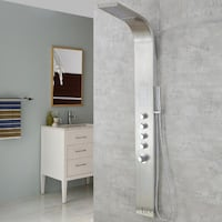 "*BNIB* Luxier 63"" Stainless Steel Rainfall Waterfall Shower Panel Mississauga"