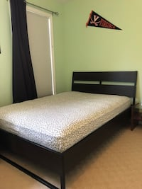 Full bedroom set- full bed, dresser, nightstand & matching thermal curtains Herndon, 20171