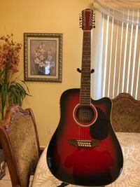 Fever 12 string electro acoustic guitar  Cudahy, 90201