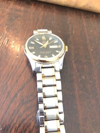 Two tone gold  and silver watch Bedford, 10506